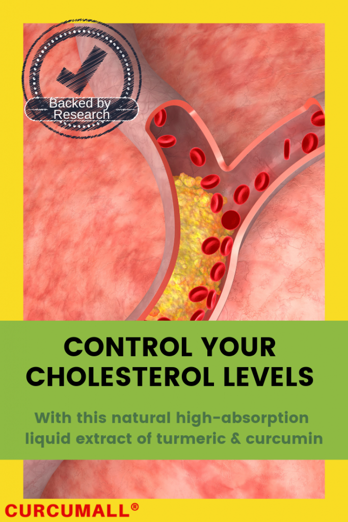 Control your cholesterol levels with curcumall