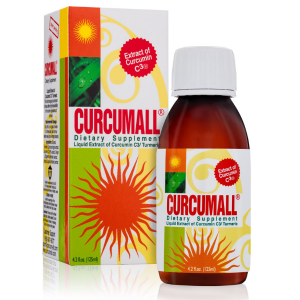 Curcumall bottle and package 125ml