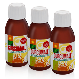 Curcumall – 3 bottles (125ml). $28 per bottle!