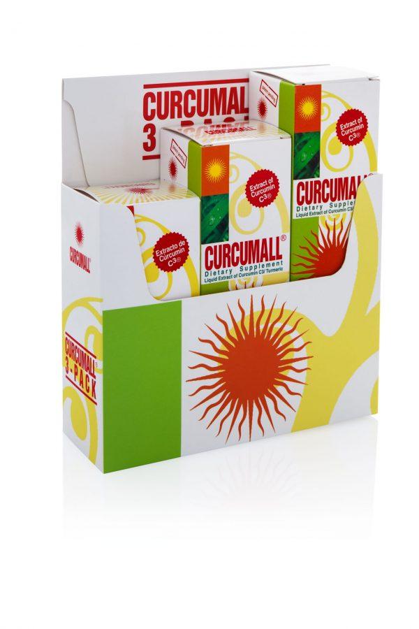 Curcumall 3 Pack