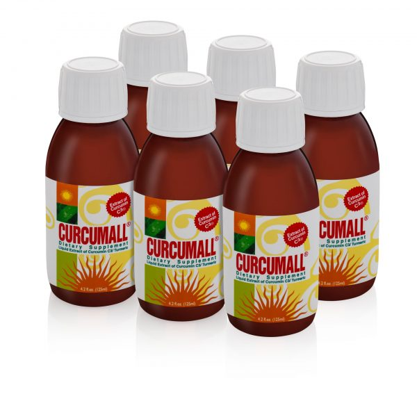 6 bottles of Curcumall 125 ml