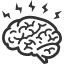 healthy brain icon