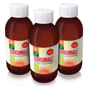 Curcumall (250ml) – 3 big bottles. Only $49 per bottle!