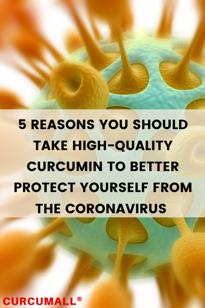 5 reasons you should take high-quality curcumin to better protect yourself from Coronavirus COVID-19